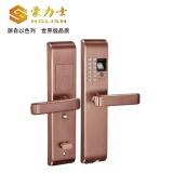 L1818F-玫瑰金智能指纹密码锁