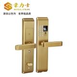 L1818F-金色智能指纹密码锁