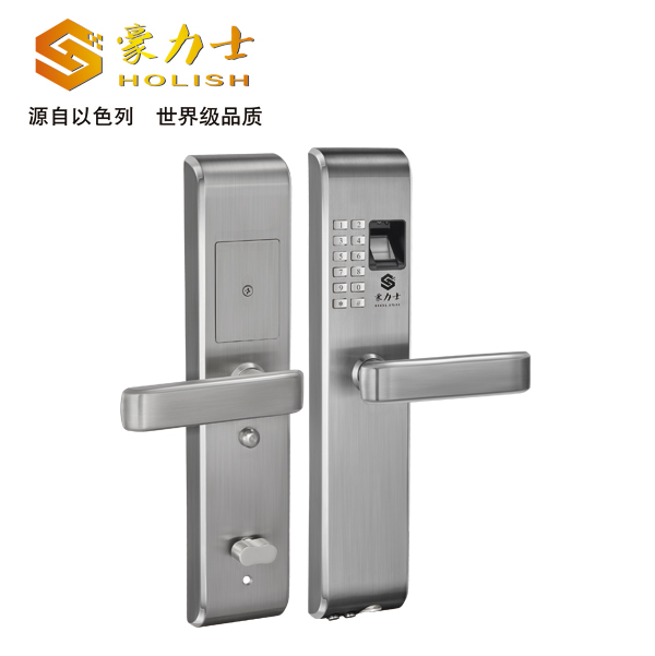 L1818F不锈钢指纹锁