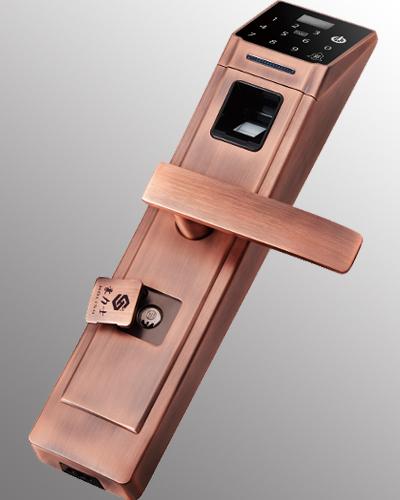 指纹锁使用方法操作步骤与注意事项_豪力士指纹锁