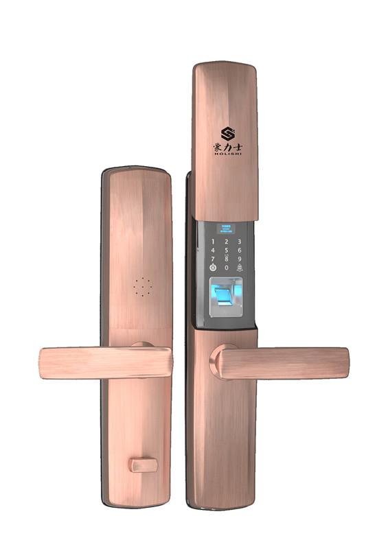 智能电子锁是家庭安全保障的新宠_豪力士指纹锁