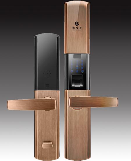 豪力士指纹锁_指纹门锁是安防智能家居产品之一