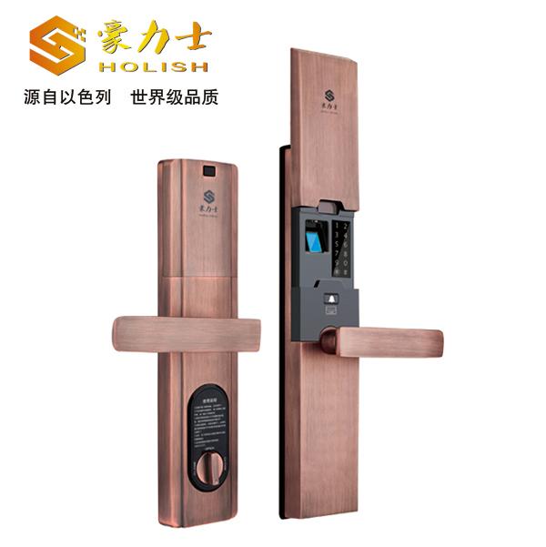 智能安防产品豪力士指纹锁