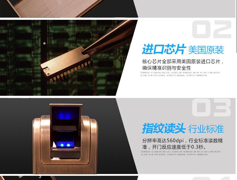 豪力士智能锁厂家-新品D8202F上市